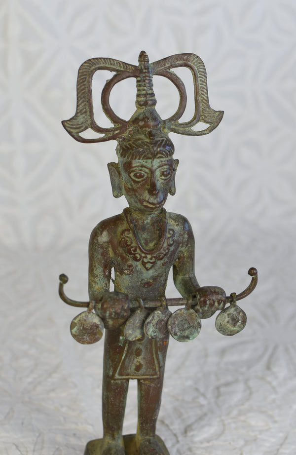 Timor Standing Bronze Figure - Female