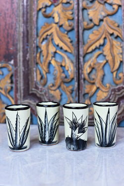 Agave Tequila Cups - Set of 4