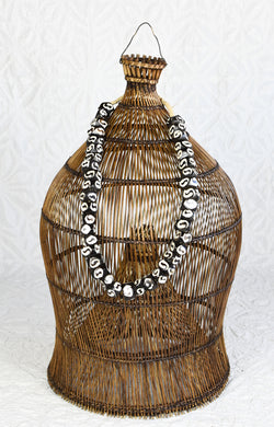 Black and White Mali Beads