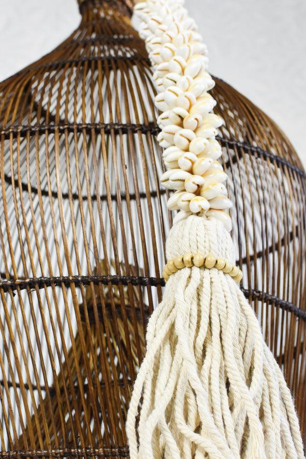 Natural Shell Tassel