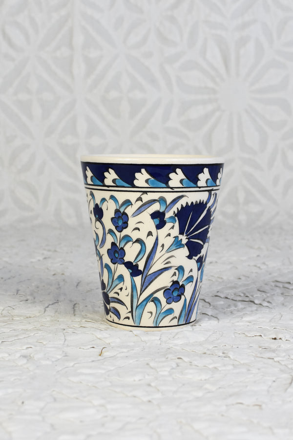 Iznik Hand Painted Cup - Set of 4