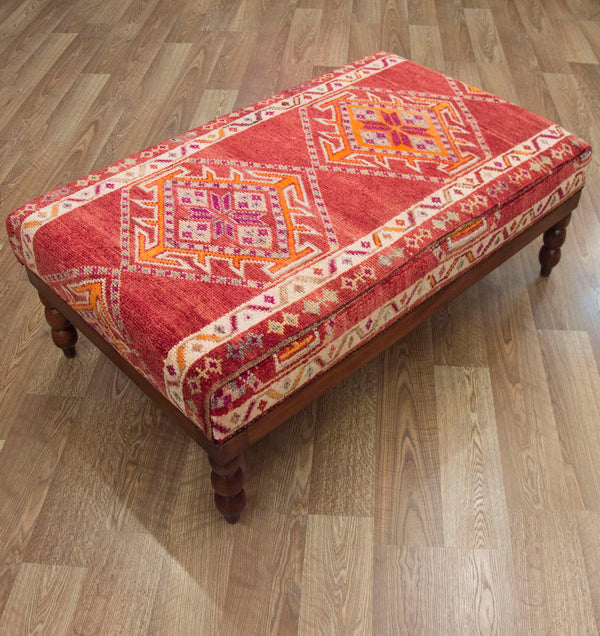 Hereki Carpet Coffee Table Ottoman ETA November 2020