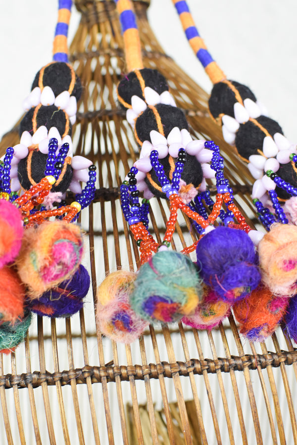 Colorful Kutch Tassels