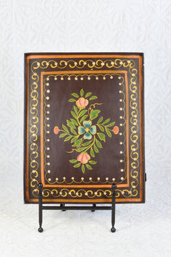 Painted Metal Tray