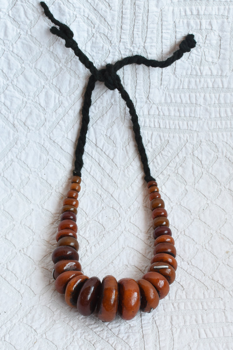 Chunky Faux Amber Beads
