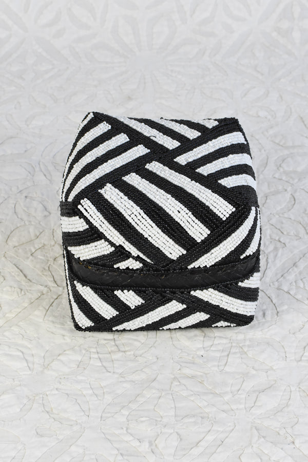 Bead Box  - Black and White