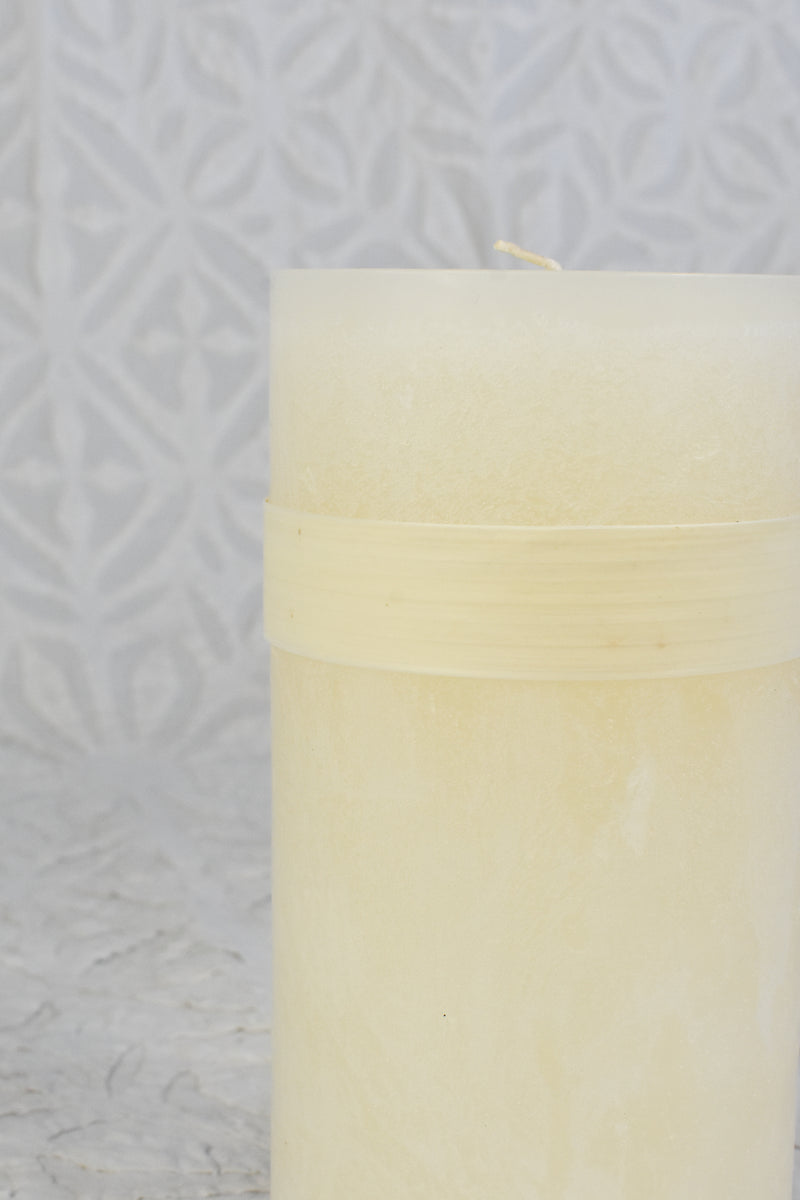 White Candle - 4 x 8