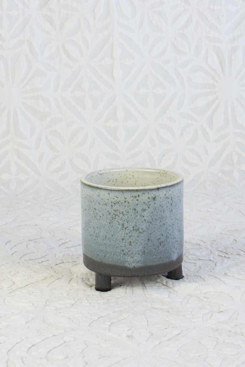 Footed Pot - Ombre
