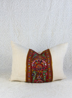 Vintage Gujarati Panel Pillow