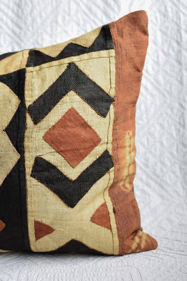 Vintage Kuba Cloth Pillow