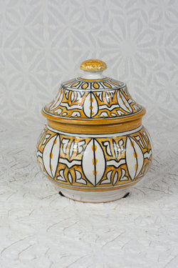 Small Moroccan Sugar Pot