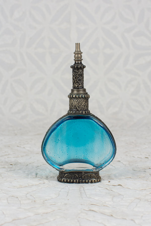 Rose Water Bottle - Blue