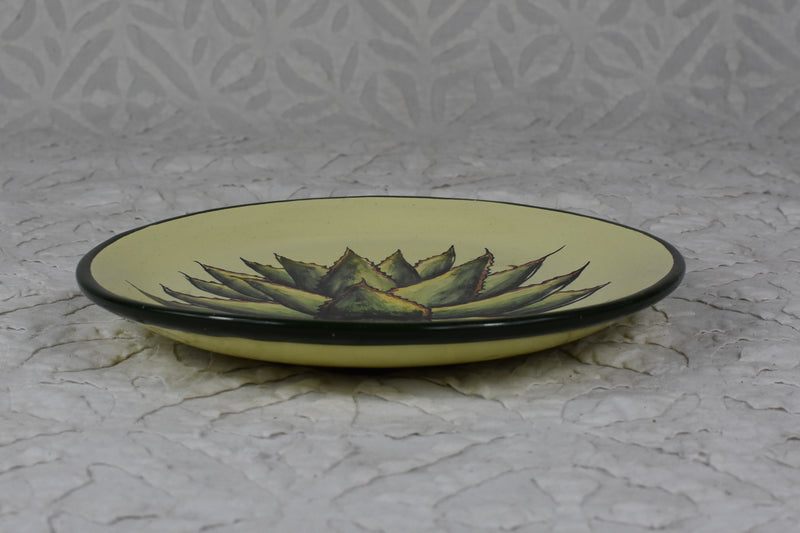 Agave Hand Painted Plate - Small
