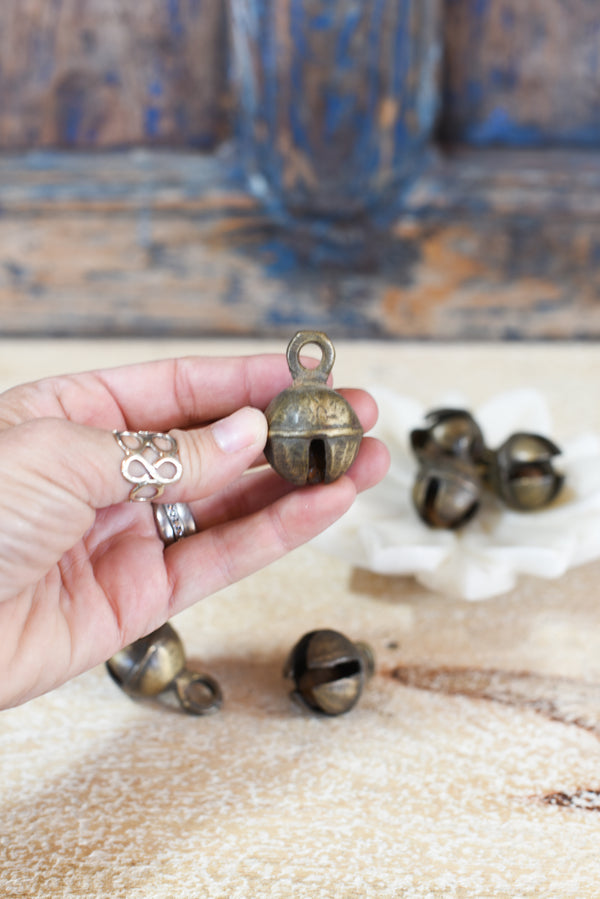 Antique Brass Dancing Bells
