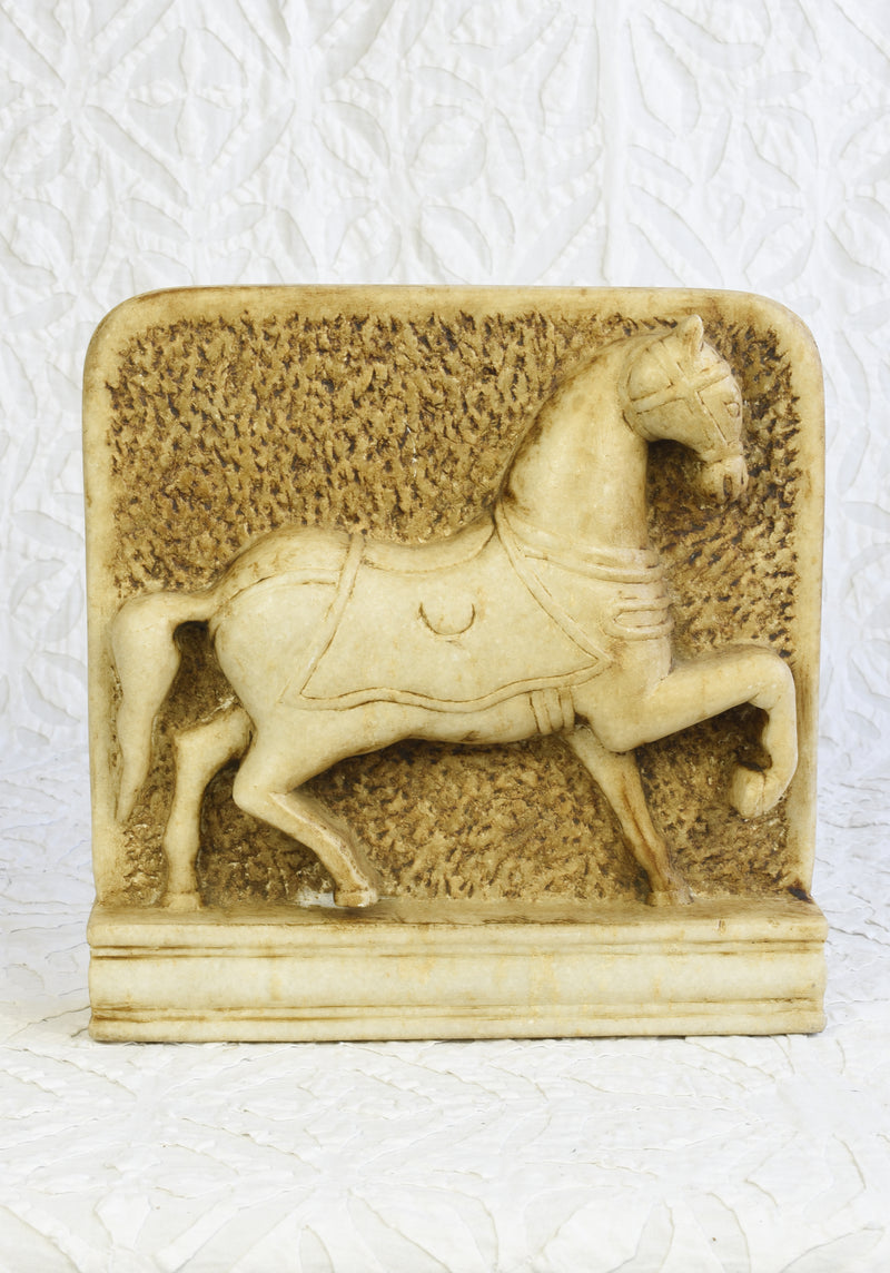 Marble Horse Panel