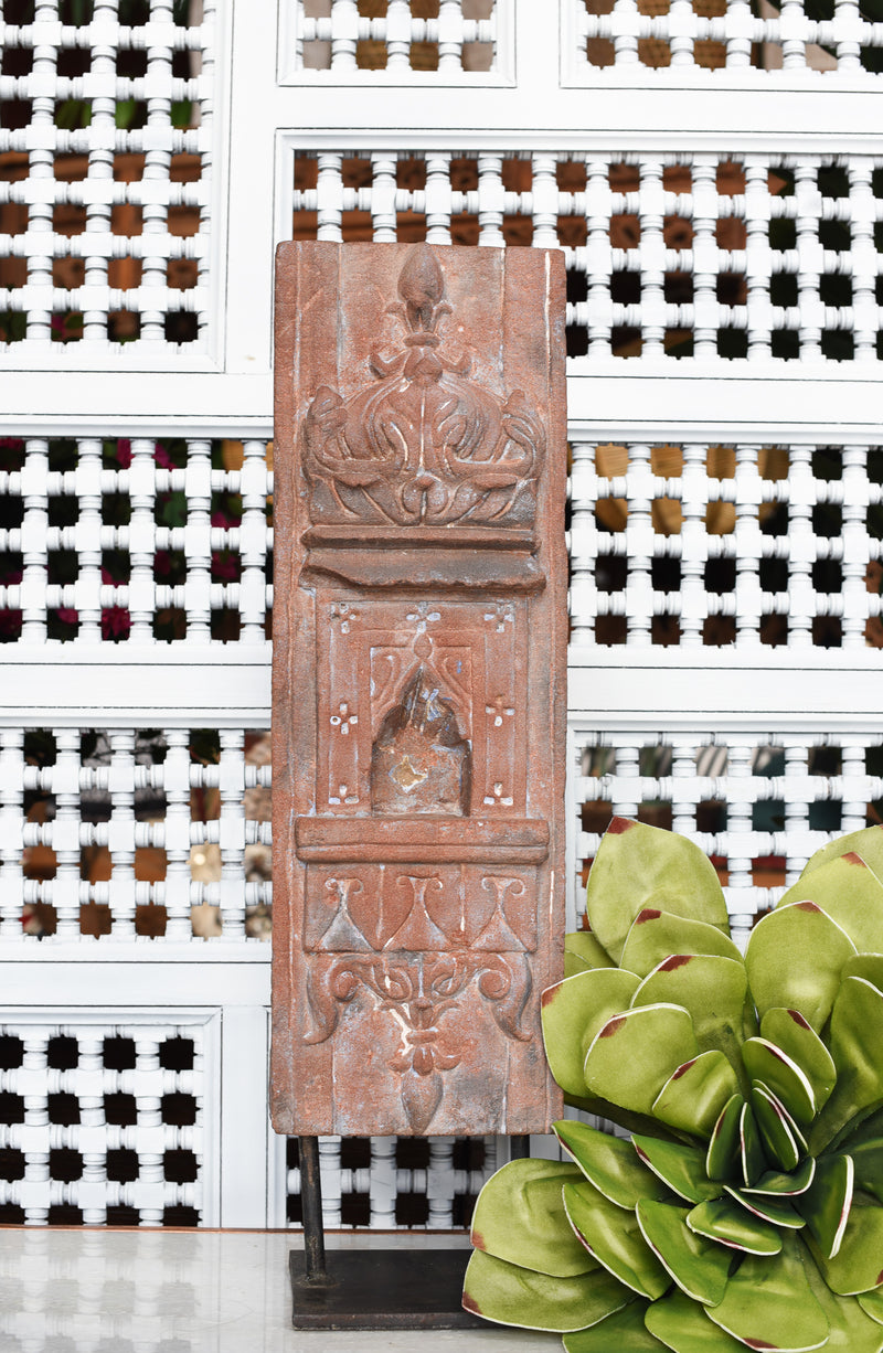 Antique Stone Aala on Stand