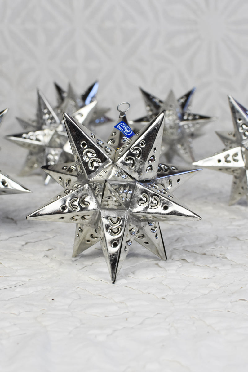 Tiny Tin Moravian Star