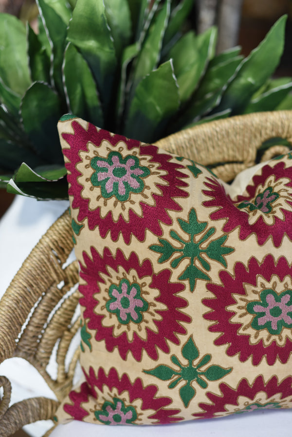 Vintage Suzani Pillow