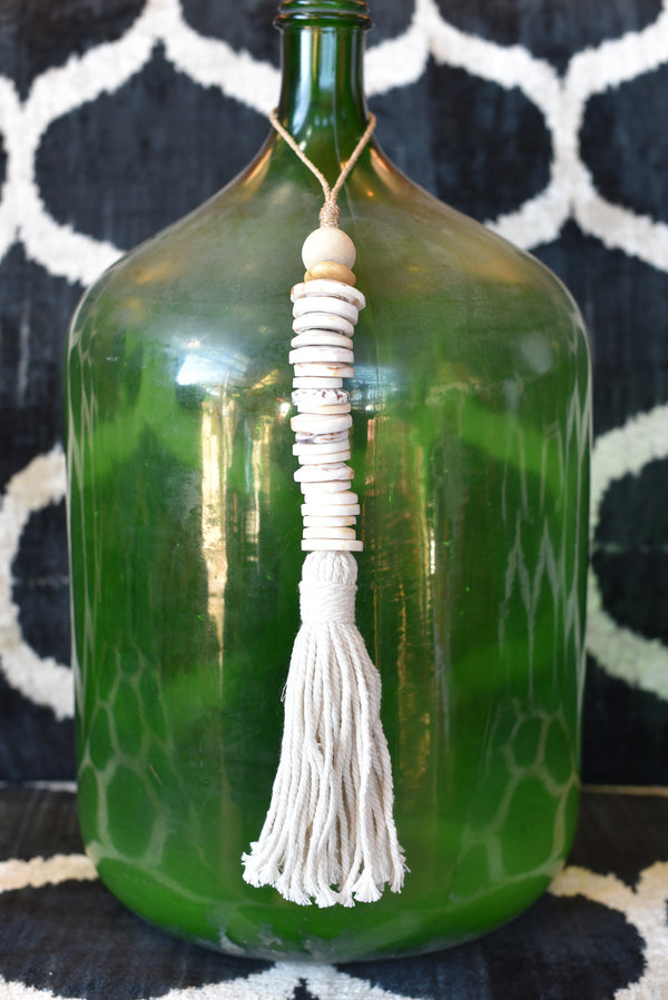 Indonesian Round Shell Tassel
