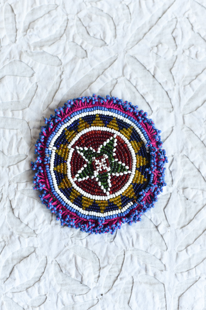 Vintage Beaded Kutch Patch