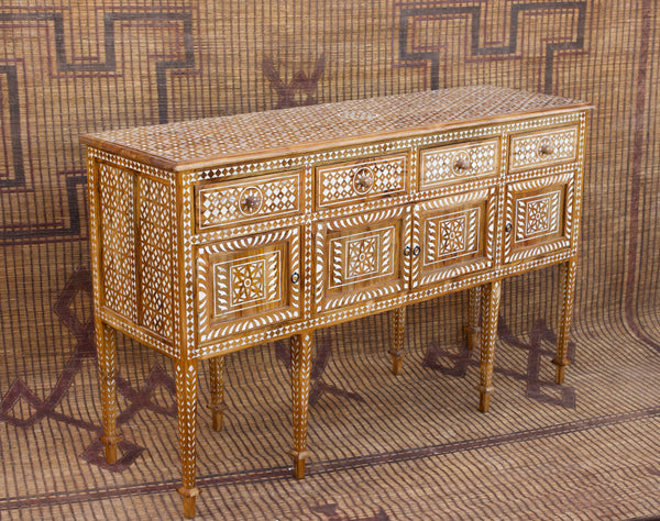 Mother of Pearl Inlaid Sideboard