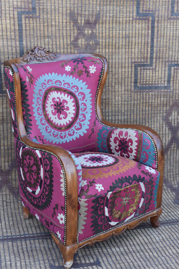 Vintage Suzani Chair