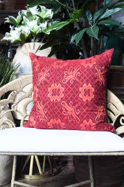 Indonesian Ikat Pillow