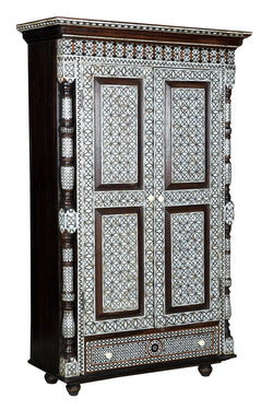 Mother of Pearl Inlaid Cabinet