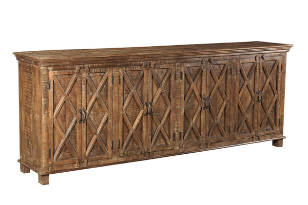 X-Pattern Sideboard - 94""