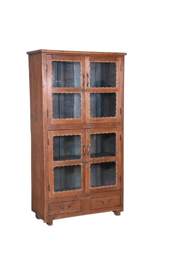 Vintage Teak and Glass Cabinet ETA October 2020