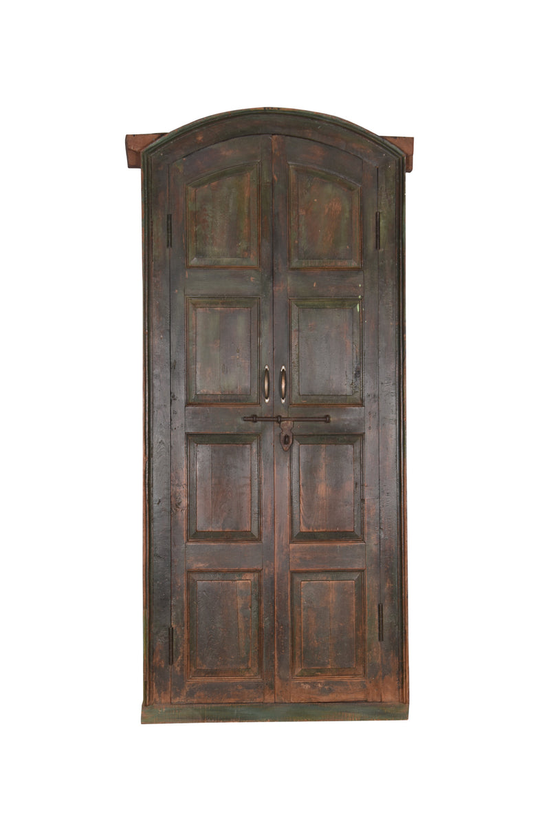 Old Teakwood Arched Doors
