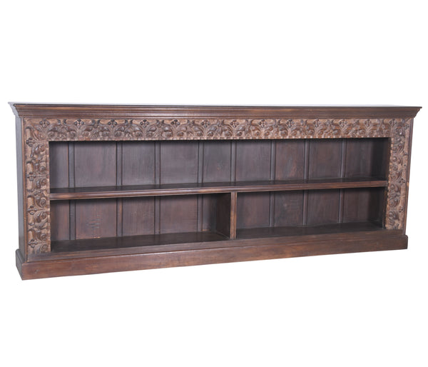Sideboard Bookshelf Made from Antique Teak Beam