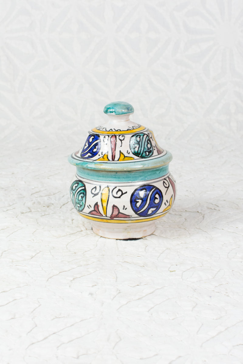 Tiny Moroccan Sugar Pot