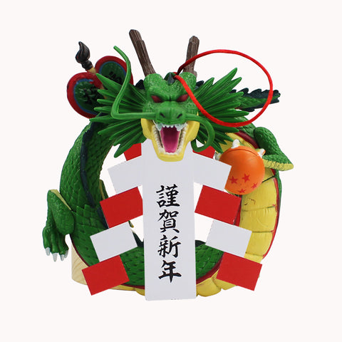 12cm Dragon Ball Z Figure Toy Shenron Shenlong for New Year Wall Decoration Pendant