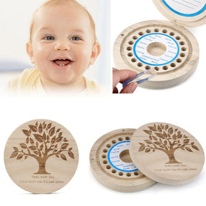 Baby Tooth Box for baby Milk teeth