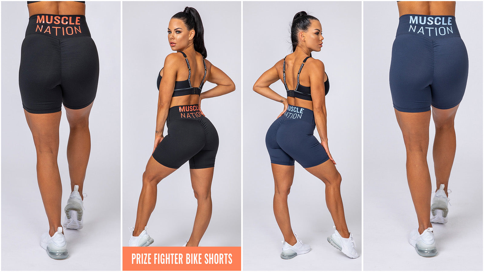 Muscle Nation Prize Fighter Bike Shorts