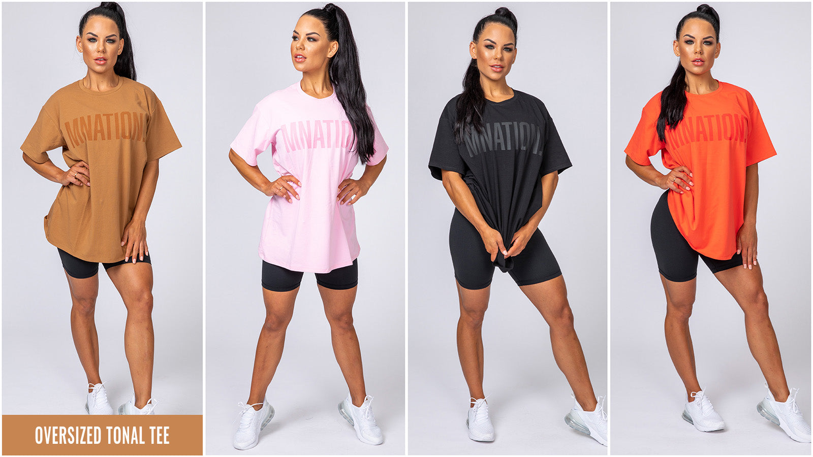 Muscle Nation Womans Tonal Tee