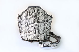 Shoulder Bag Medium - Black & White - Tshopi.com