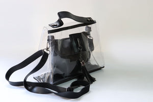 Transparent Shoulder & Handheld Bag - Tshopi.com