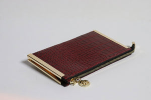 Crocodile Women Wallet Purse - Tshopi.com