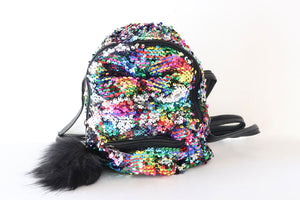 Small Kids Backpack Butterfly Style Rainbow - Tshopi.com