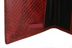 Real Leather Passport Cover - Crocodile - Tshopi.com