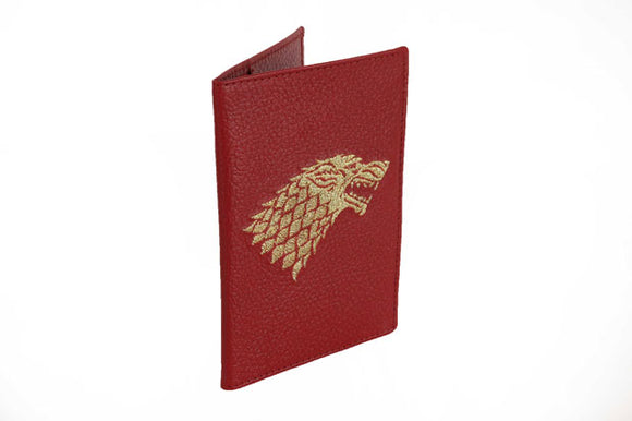 Game of Thrones Real Leather Passport Cover - Tshopi.com