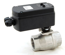 Motorized Ball Valves MBVP (Programmable)