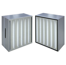 HEPA - MVH High Capacity Hepa Filters With Galvanized Steel Frame
