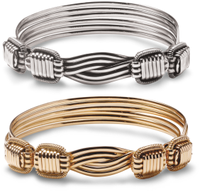 Forbes releases the timeless African design of the Elephant Hair Bangle in Sterling Silver and 18 Carat Gold.