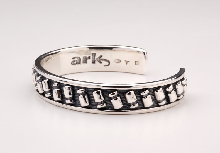 Commissioned by ARK, a limited edition series of bangles in Sterling Silver and 18 carat yellow gold.
