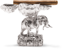 Alexander makes the Elephant and Tortoise Cigar Ashtray, a gift for his parent's wedding anniversary.