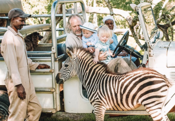 Benji finds an abandoned baby zebra in Matabeleland who he brings home and we name Abby.