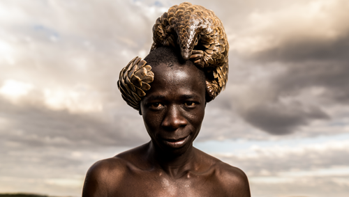 Patrick Jnr's Pangolin Collection, in collaboration with the photographs by Adrian Stern, raises incredible awareness on a global scale for the plight of the world's most trafficked mammals.
